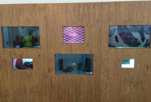 Kildare Village Interactive Display Units