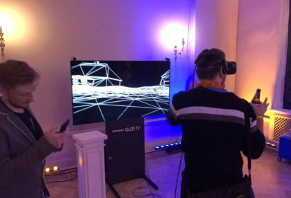 REPTILEHAUS AGENCY - The after party had some cool VR stuff to play with