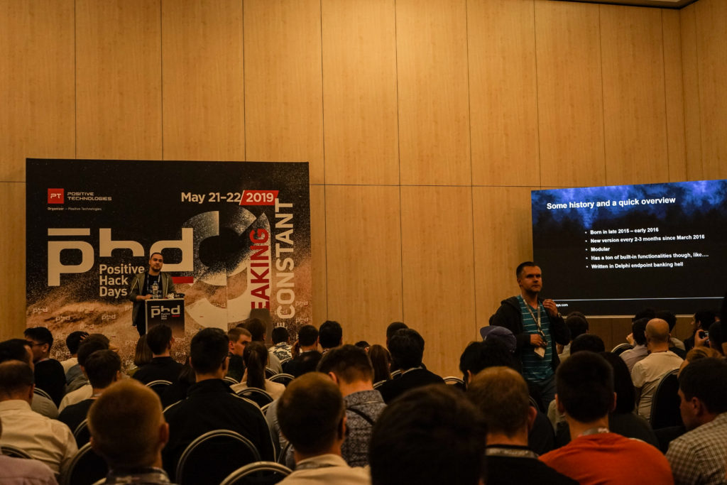 We spent a week at Positive Hack Days Security Conference in Moscow, Russia