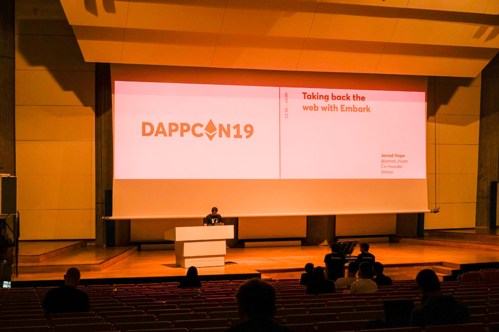 DAPPCON is back in Technische Universität Berlin and REPTILEHAUS was there too!