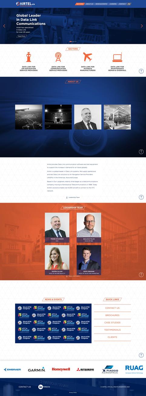 AirTel ATN - Corporate website